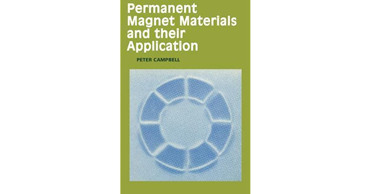 Permanent Magnet Materials and their Application