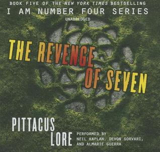 The Revenge Of Seven Lorien Legacies 5 By Pittacus Lore