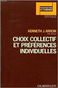 Choix collectif et préférences individuelles
