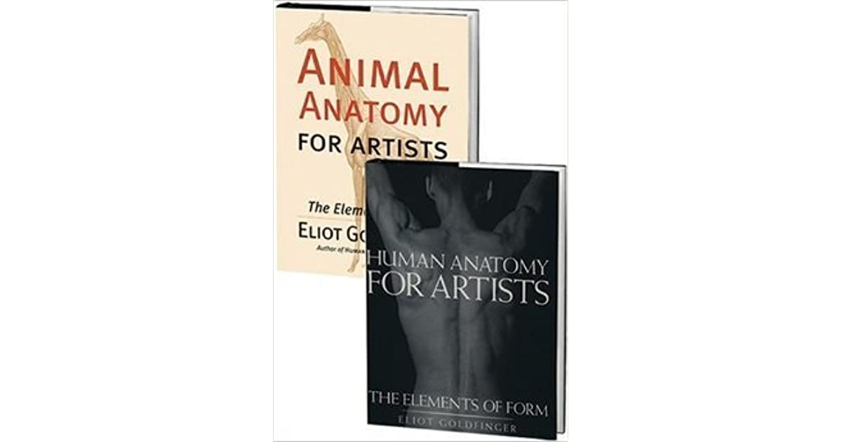 The Goldfinger Set Human Anatomy And Animal Anatomy By Eliot Goldfinger