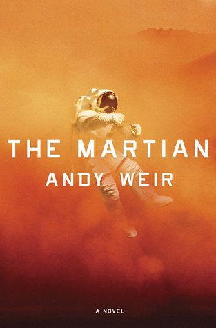 "Cover of Andy Weir's ""The Martian"""