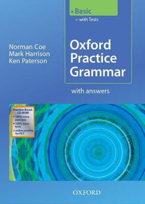 Oxford Practice Grammar Basic: With Key Practice-Boost CD-ROM Pack: With Key Practice-coost CD-ROM Pack Basic level