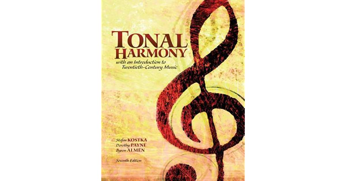 Bound for workbook for tonal harmony by stefan kostka fandeluxe Choice Image