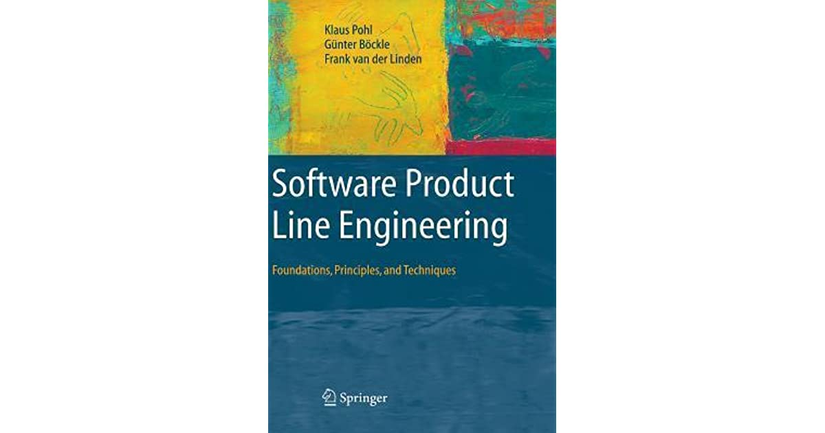 software product  engineering foundations principles  techniques  klaus pohl