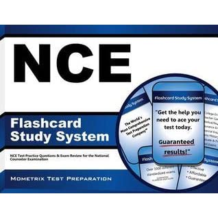 Nce Flashcard Study System: Nce Test Practice Questions and Exam