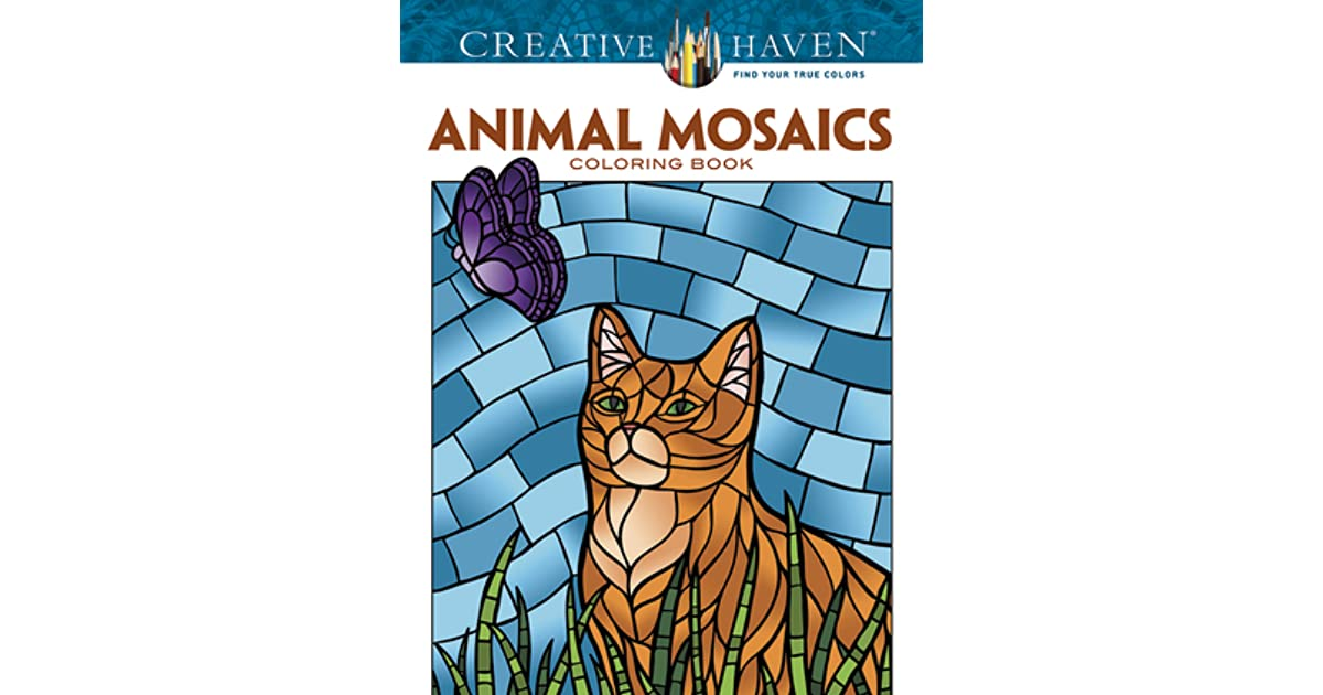 Creative Haven Animal Mosaics Coloring Book By Jessica Mazurkiewicz