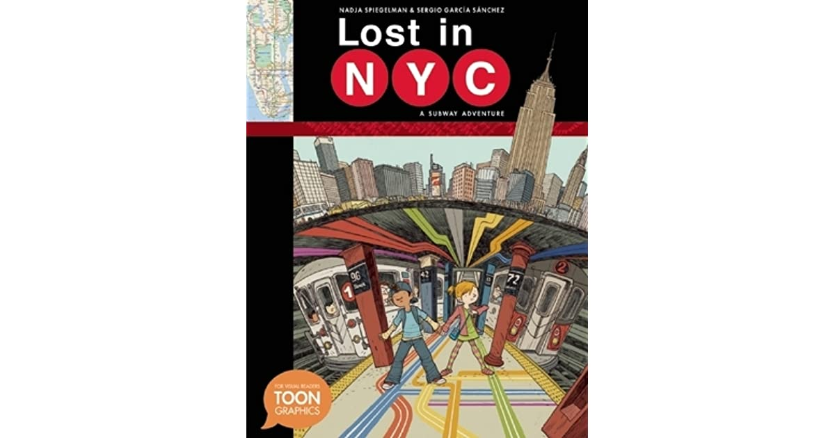 The Wrong Color Subway Map That Feels Just Right.Lost In Nyc A Subway Adventure By Nadja Spiegelman