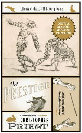 "Cover of Christopher Priest's ""The Prestige"""