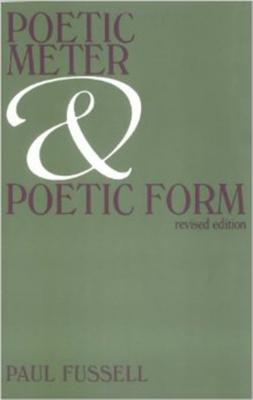 Poetic Meter and Poetic Form