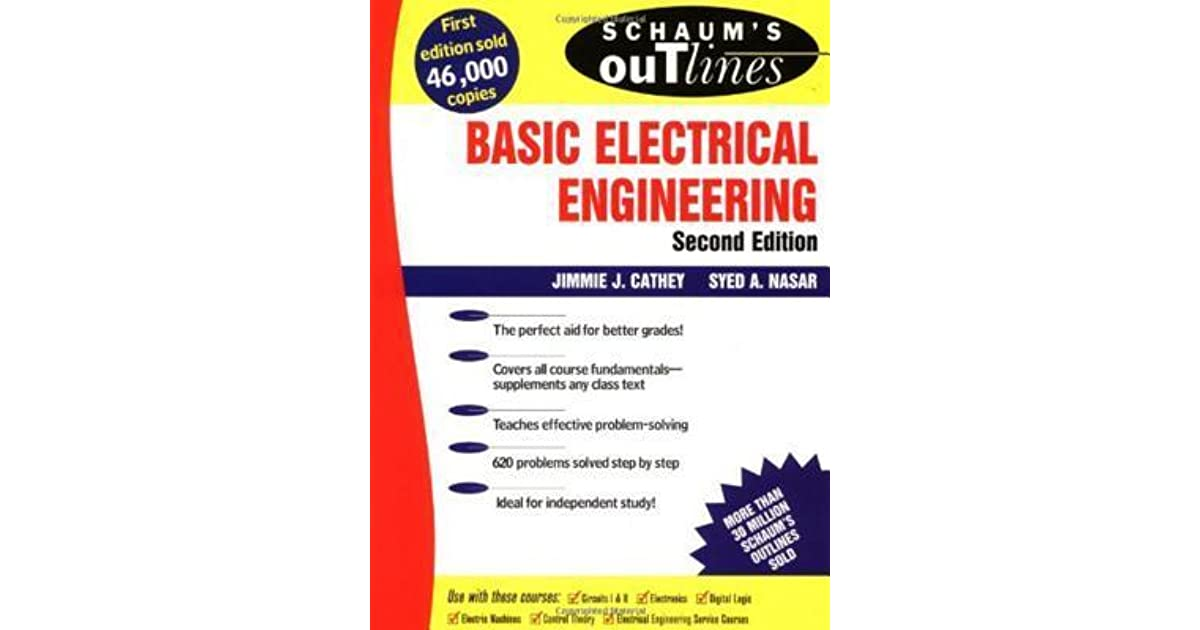 Schaum\'s Outline of Basic Electrical Engineering by Jimmie J. Cathey