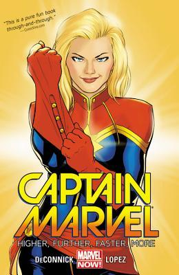 Captain Marvel, Volume 1: Higher, Further, Faster, More