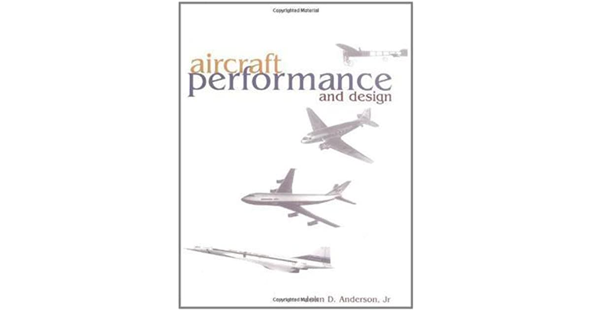 aircraft performance and design anderson pdf free download