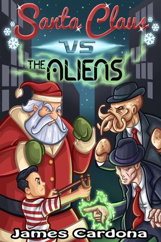Santa Claus vs The Aliens by James Cardona