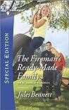 The Fireman's Ready-Made Family (The St. Johns of Stonerock, #2)