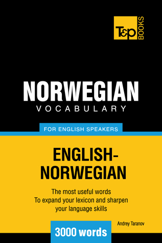 Norwegian Vocabulary for English Speakers 3000 words