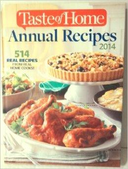 Taste of Home Annual Recipes 2014
