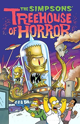 Halloween Simpsons Treehouse Of Horror.The Simpsons Tree House Of Horror Halloween Edition By