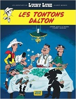 Les Tontons Dalton  (6)  by  Achdé