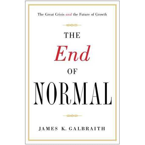 The End Of Normal Why The Growth Economy Isn T Coming Back