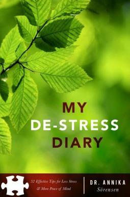 My De-Stress Diary by Annika Sorensen