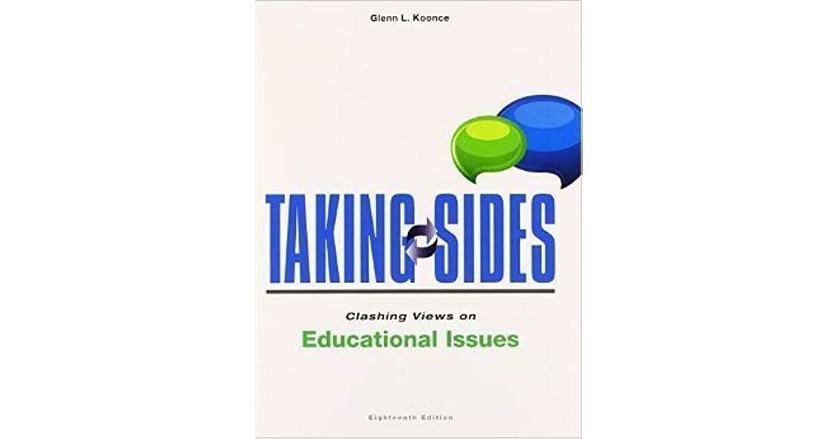 on issues sides clashing educational free taking views e-books