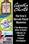 The First 3 Hercule Poirot Mysteries: The Mysterious Affair at Styles / Murder on the Links / Poirot Investigates