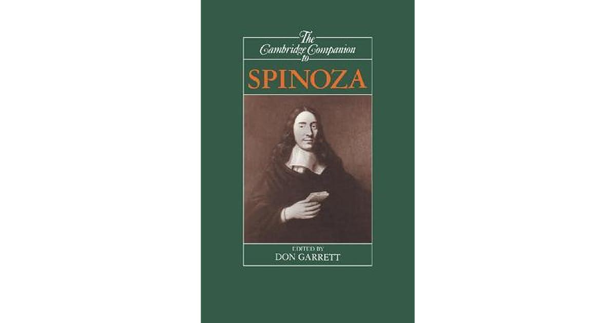 The Cambridge Companion to Spinoza (Cambridge Companions to Philosophy)