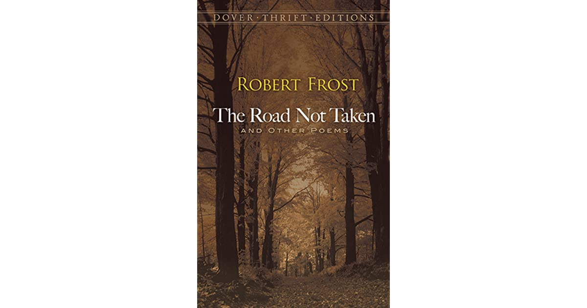 road not taken by robert frost
