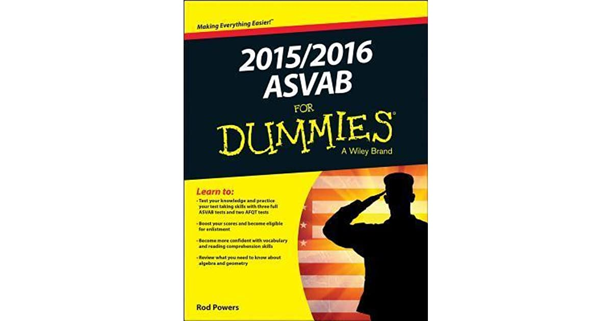 2015/2016 ASVAB for Dummies by Rod Powers