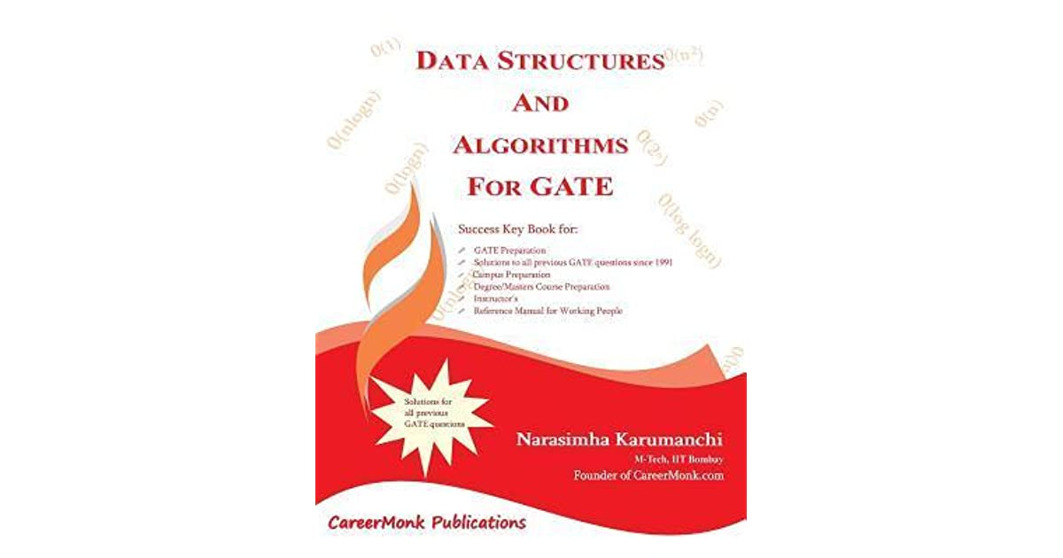 Data Structures and Algorithms for Gate: Solutions to All