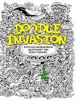 Doodle Invasion Zifflins Kolorierbuch Volume 1