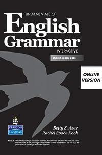Fundamentals of English Grammar Interactive, Online Version, Student Access