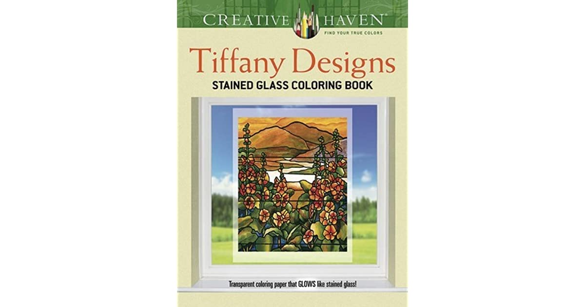 Creative Haven Tiffany Designs Stained Glass Coloring Book by A.G. Smith