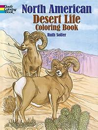 North American Desert Life Coloring Book