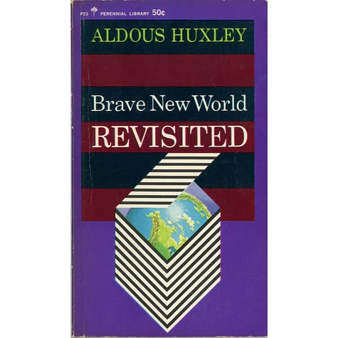 a book analysis of brave new world by aldous huxley Brave new world opens in london, nearly six hundred years in the future (after ford) human life has been almost entirely industrialized — controlled by a few.