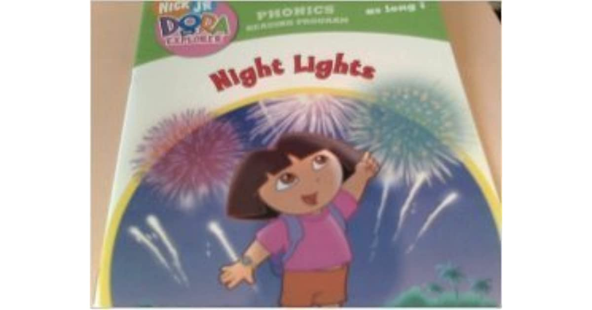 Nick Jr Dora the Explorer Night Light