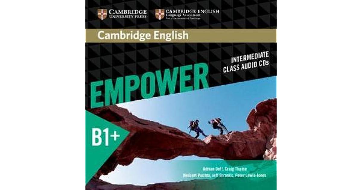 Cambridge English Empower Intermediate Class Audio CDs by Herbert Puchta