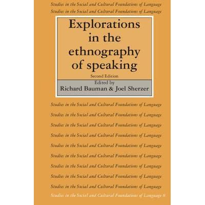 ethnography of speaking essay Ethnography of communication relates ethnography, the description and structural-functional analysis of society and culture, with the 'language.