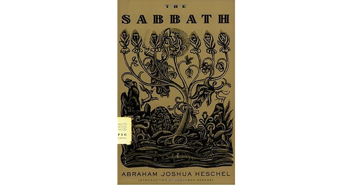 the sabbath heschel audiobook
