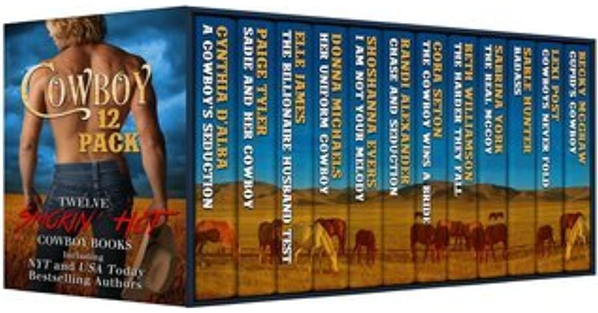 Cowboy 12 Pack: Twelve-Novel Boxed Set by Cynthia D'Alba