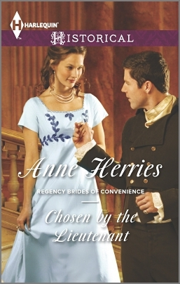 Chosen by the Lieutenant (Regency Brides of Convenience #2)