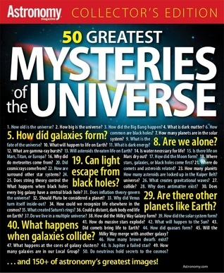 Astronomy 50 Greatest Mysteries in the Universe