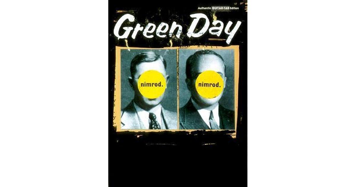Green Day Nimrod By Billie Joe Armstrong