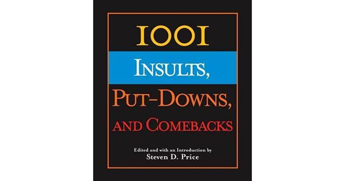 For all insults pdf comebacks and occasions