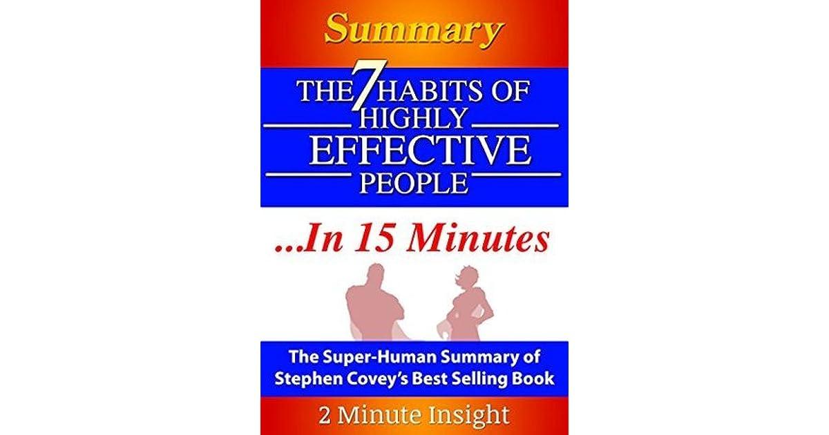 book summary the 7 habits of