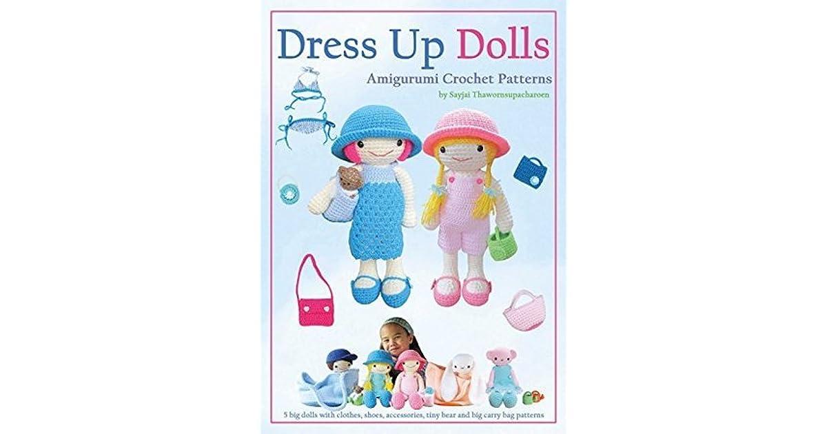 Sweet bunny amigurumi in dress pattern | Amiguroom Toys | 630x1200