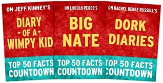 Top 50 Facts Countdown Bundle Set 3 [Pack of 3]: Big Nate, Diary of a Wimpy Kid, Dork Diaries
