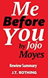 Me Before You by Jojo Moyes - Review Summary