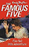 Five Fall Into Adventure (The Famous Five, #9)