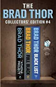 Brad Thor Collectors' Edition #4: The Athena Project / Full Black / Black List